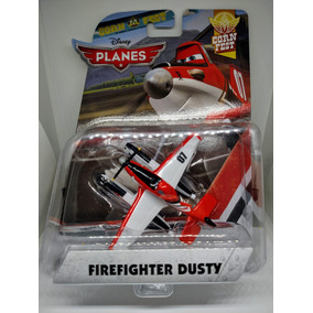 Pixar Aviones Dusty Bombero Mattel