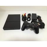 Playstation 2 (scph-70000) Consola De Carbón Negro (importac