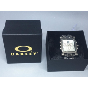 fa1209c5b4c Relógio Oakley Minute Machine Titanium Sapphire Masculino - Relógios ...