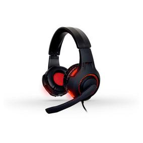Audifonos Gamer Pc Diadema Microfono Led 3.5 Naceb Na-0304