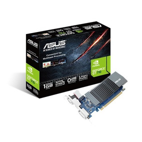 Asus Geforce Gt710 1gb Ddr5 Gt 710 Low Profile Hdmi Silent