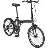 Bicicleta Dobrável Urbana Aro 20 E 6 Marchas Durban Jump