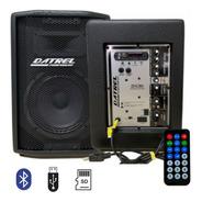 Caixa De Som Ativa Datrel At15 300b - 300w C/ Usb Bluetooth