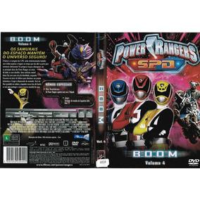 Dvd Power Rangers Spd Boom (28201-cx8)
