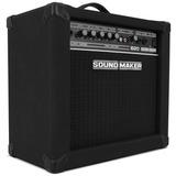 Caixa Amplificada P/ Contra Baixo Sound Maker Cube B20 Som