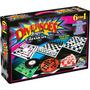 Kit 6 Jogos Clássicos Trilha Xadrez Dama Bingo Roleta Resta1