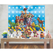 Kit Painel Poli Banner E Displays Toy Story