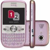 Celular Cce Mobi Qw20 Rosa