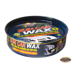 Cera Cristalizadora De Pintura Sun Car Wax 100g Até 6 Meses