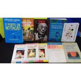 Livros Espiritualistas Lair Ribeiro Dalai Lama Lote C 10