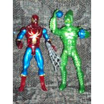 Lote De 2 Figuras Spiderman Y Duende Verde Hombre Araña
