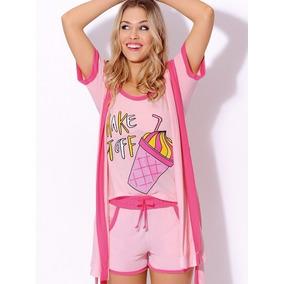 Pijama Algodon Musculosa Short Art4488 Marcela Koury