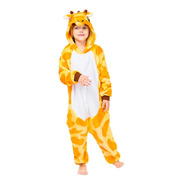 Pijama Mameluco Kigurumi Disfraz Cosplay Jirafa Niños Niñas
