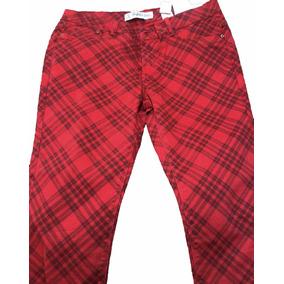 Pantalon Gabardina Cuadro Diagonal. Importado Zara. Nuevo!!!