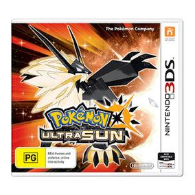 Videojuego Pokemon Ultra Sun Nintendo 3ds