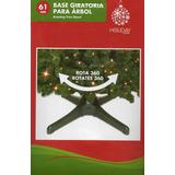 Base Giratoria Eléctrica Para Árbol Navidad Pino Artificial