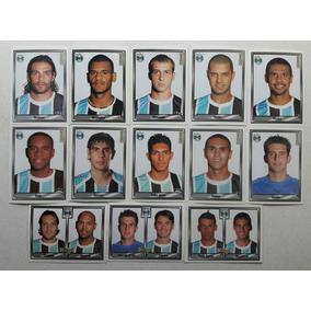 Lote 15 Figurinhas Campeonato Brasileiro 2006 - Grêmio