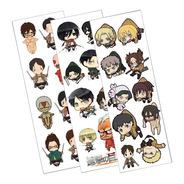 Plancha De Stickers De Shingeki No Kyojin Attack On Titan