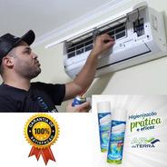 Limpeza Do Ar Condicionado - Melhor Espuma Do Mercado