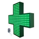 Cartel Cruz Led Farmacia 60 Doblefaz Rto-dimmer - Playled
