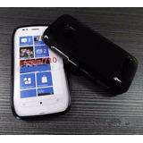 Capa Case Gel Tpu Celular Nokia Lumia 710 Pelicula Grátis