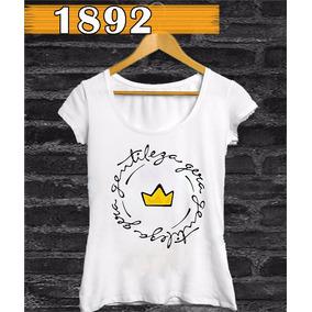 Camiseta Feminina Gentileza Gera Gentileza Estampa Compre Já