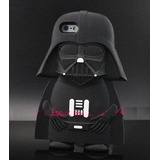 Funda Iphone 6 6s Star Wars Yoda Darth Vader Silicon