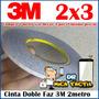 Cinta 3m Doble Faz 3 Metro Telefonos Movil Mica Tactil