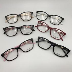 Armação Estilo Gatinho P Óculos De Grau Acetato Feminina - Calçados ... b0ddb00fc6