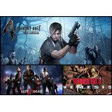 Pc Juegos Zombies (resident Evil 2, 3 + Left 4 Dead)