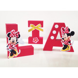 Letras 3d - Decorativas - Minnie - Peppa - Safari - Festa