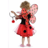 Fantasia Miraculous Princesa Joaninha Lady-bug De 7 A 9 Anos