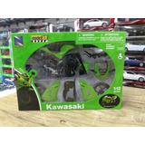 1:12 Kawasaki Zx 10r 2006 Moto P Armar New Ray