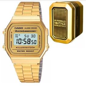 323c0e23d523 Casio Vintage A 168 Dorado - Reloj de Pulsera en Mercado Libre México