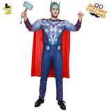 Disfraz Hombre De Thor Adulto Importado Excelente Calidad