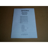 Instrucciones De Uso Ventilador Oscilante De Mesa Firstline
