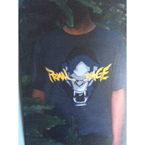 Playera Primal Rage Exclusiva Loot Crate Talla M
