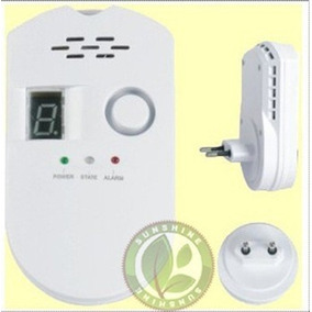 Detector De Gas Domiciliario Y Garrafas Alarma Perdida Gas