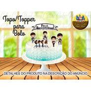 Topo Topper Para Bolo Beatles Banda Cute Baby