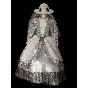 Vestido Disfraz Catrina Llorona Niña Halloween T10