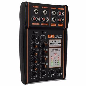Mesa De Som Automotivo Expert Mx-1 12v Stereo Ent/ Aux Micro