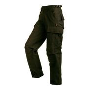 Pantalón Dama Táctico Cargo Ripstop Verde Algodón/poliéster
