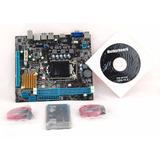 Placa Mae Ddr3, 1155 H61c Isync / Intel Nova !!! Promoção
