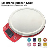 Afybl Multifunction Stainless Steel Digital Kitchen Scale Wi