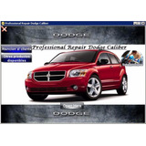 Manual De Taller Profesional Dodge Caliber 2006-2012