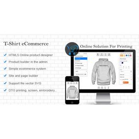 Script Personalizar Camisas Opencart - Informática no Mercado Livre ... 36c729a8d39bf