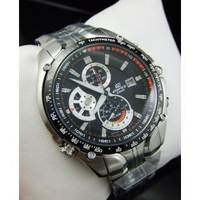 78696ba293c Relógio Casio Edifice Ef 543 D Seb Vettel Cronógrafo 100m Pt ...