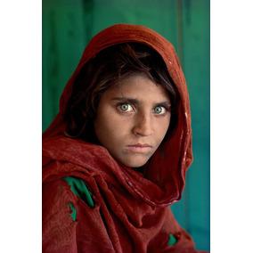 Poster Menina Afegã Fotografias Mais Famosas Da História
