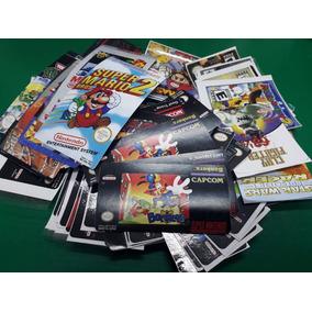 Labels Adesivas Super Nintendo, N64, Master System