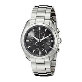 Citizen Mens Ca0020-56e Eco-drive Titanium Watch